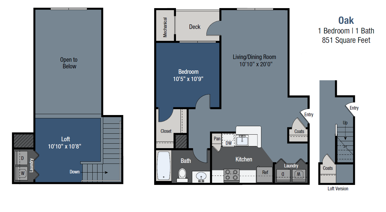 Oak Floor Plan 3