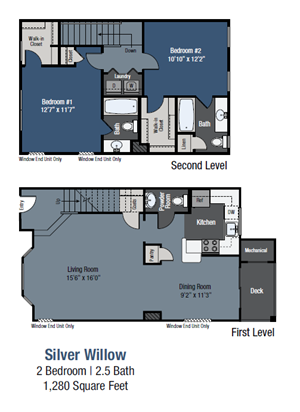 Silver Willow - Townhome