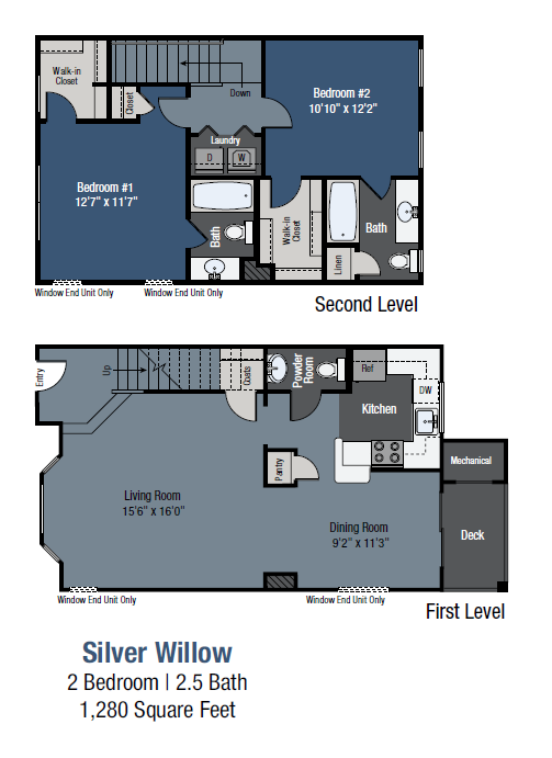 Silver Willow - Townhome Floor Plan 7