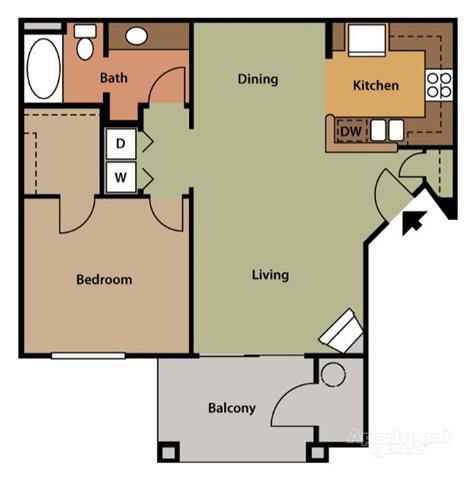 Floor Plan A1 Floor Plan 2