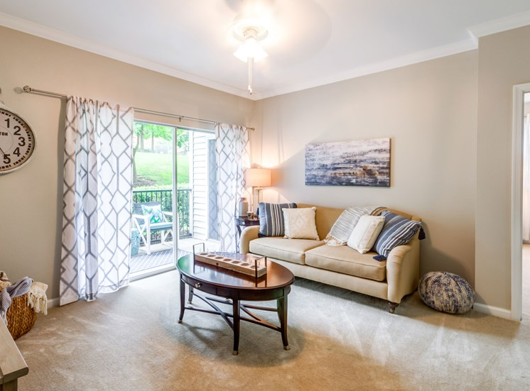 Living Room, Riverstone at Owings Mills