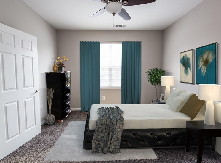 Riverstone at Owings Mills Renovated Bedroom