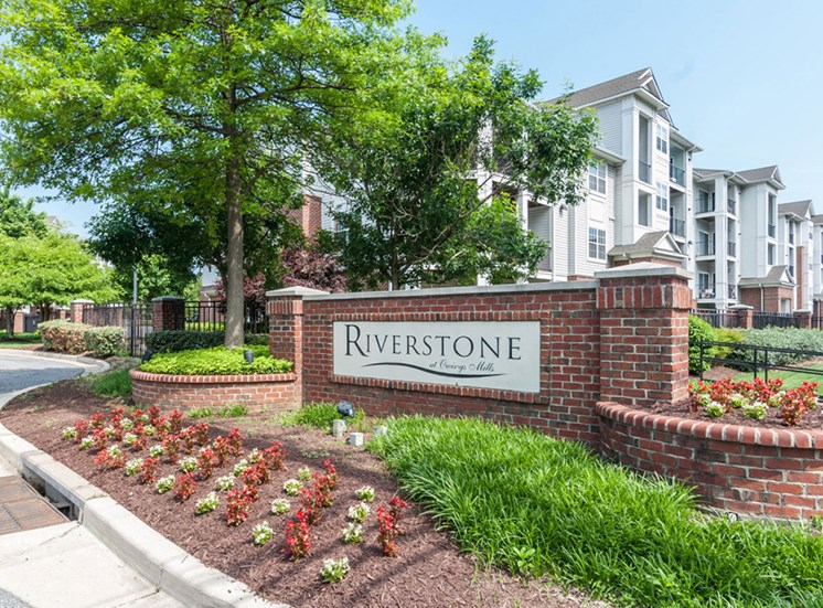 Access controlled apartments at Riverstone at Owings Mills Apartments, Owings Mills, MD