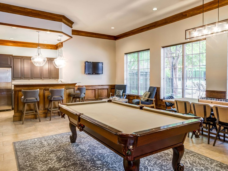 Billiards Room, Riverstone at Owings Mills
