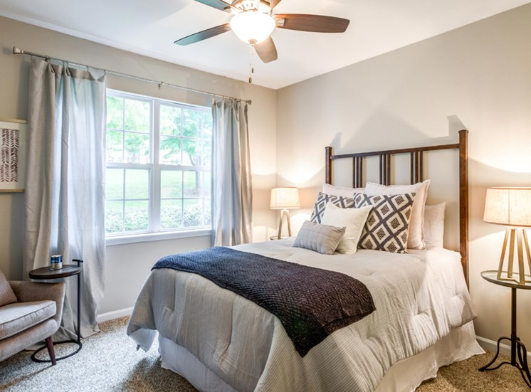Renovated Bedroom, Riverstone at Owings Mills