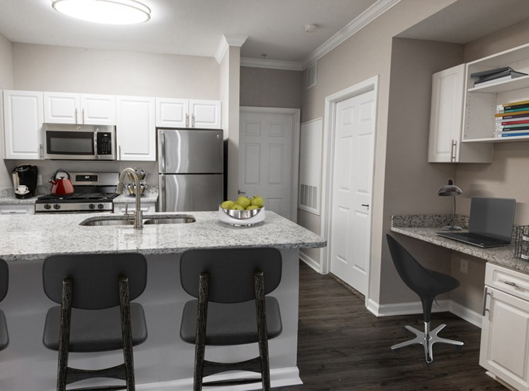 Riverstone at Owings Mills Renovated Kitchen Area
