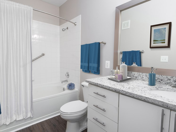 Riverstone at Owings Mills Renovated Bathroom