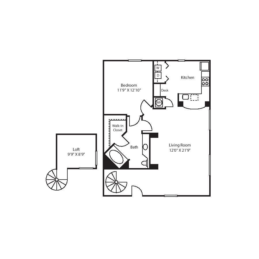 A5 - LOFT Floor Plan 5
