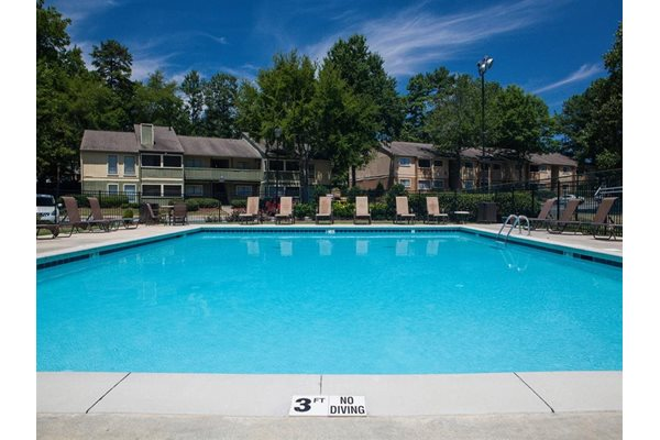 Refreshing Pool at The Pointe at Norcross Apartments in Norcross GA