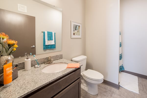 Private In-Suite Bathrooms