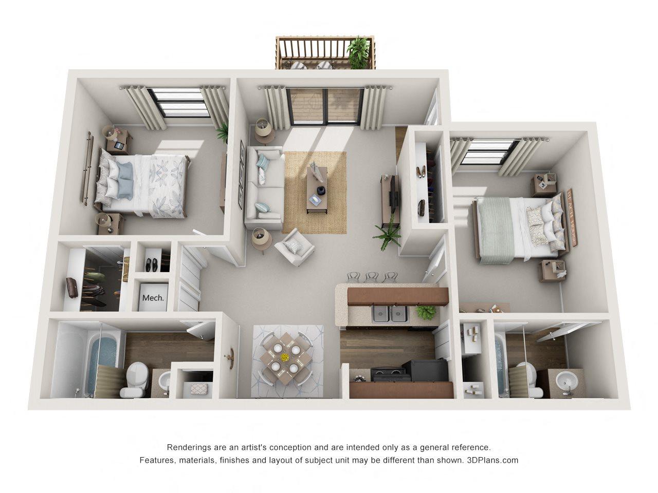 B1 Floor Plan 5