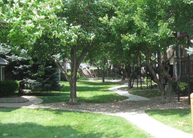 plenty of green spaces