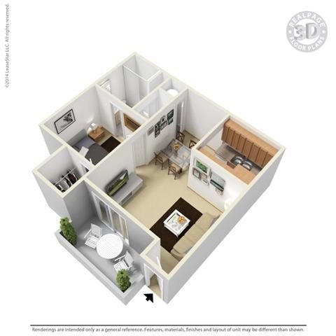 Cameo Floor Plan 1