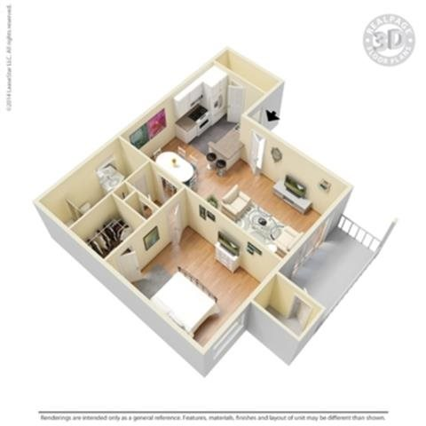 the Bolero-R Floor Plan 5