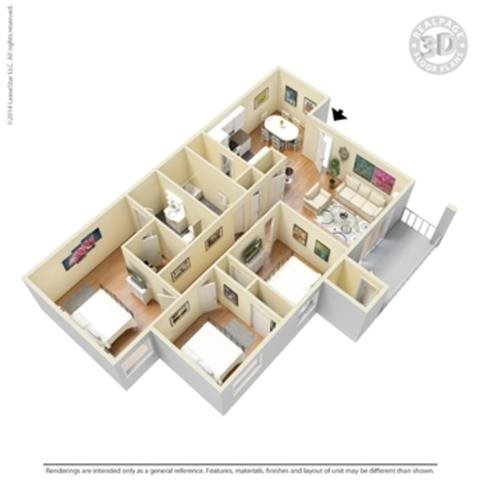 the Parkland-R Floor Plan 9