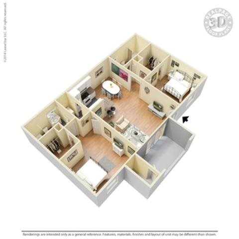 The Paseo-R Floor Plan 7