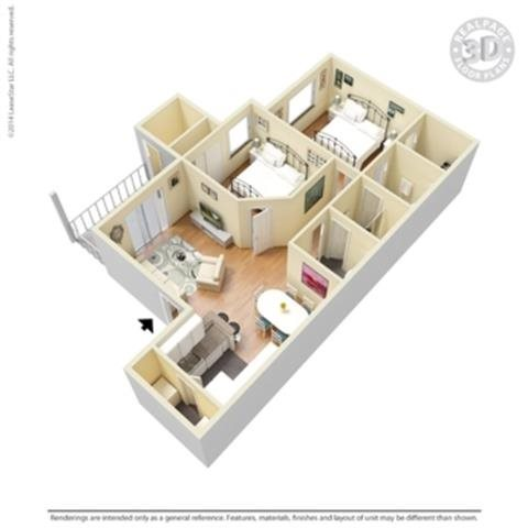 the Plaza Floor Plan 6