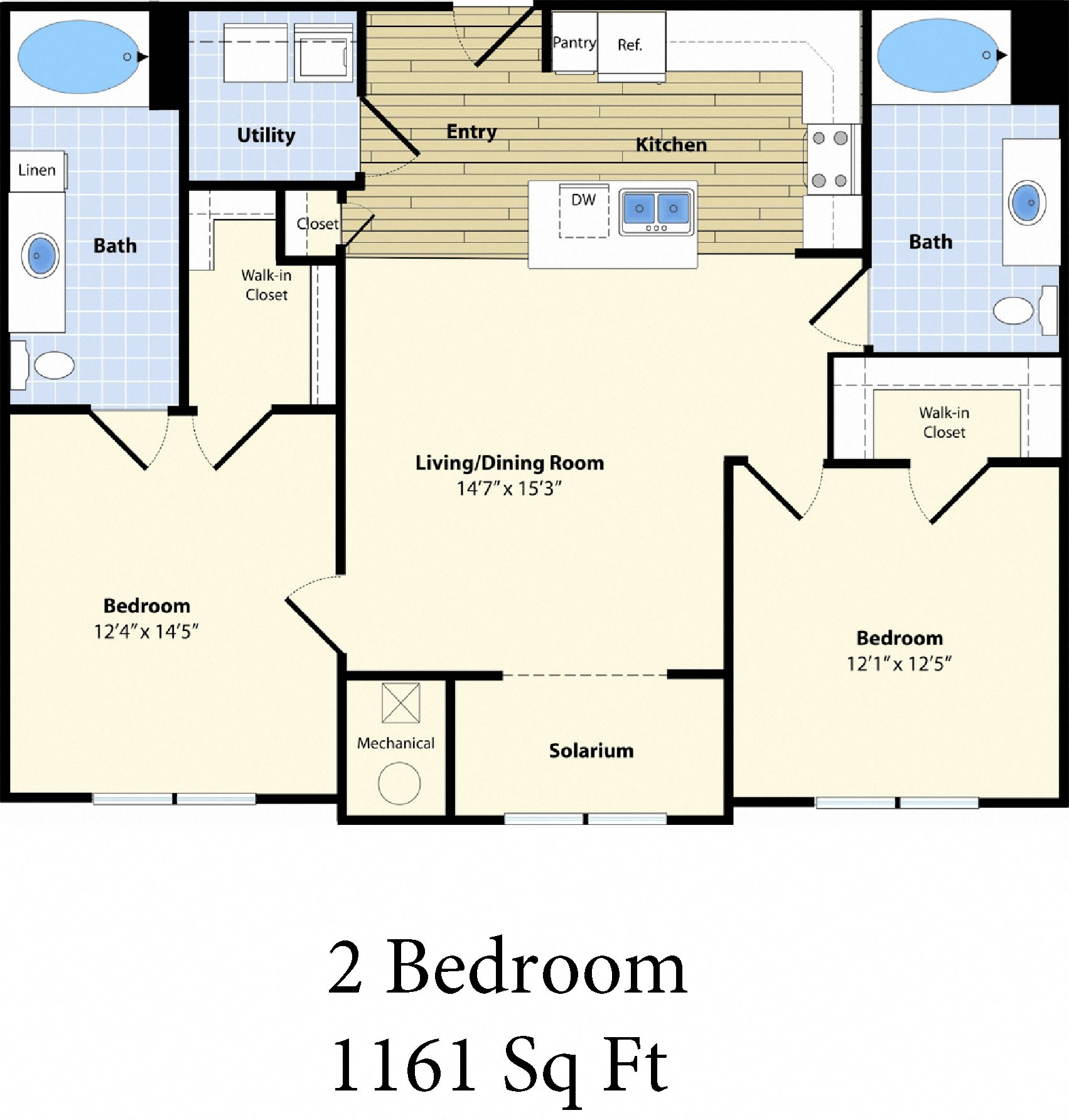 Two Bedroom Apartment at Billerica