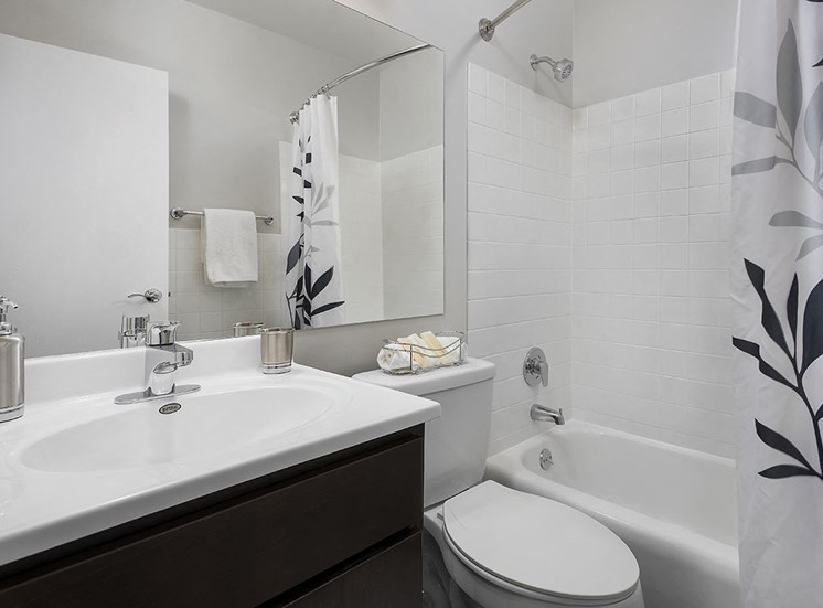 Large Master Bathroom at The Bryn, Chicago, 60660