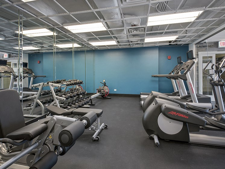 24 Hour Fitness Center at The Bryn, Illinois