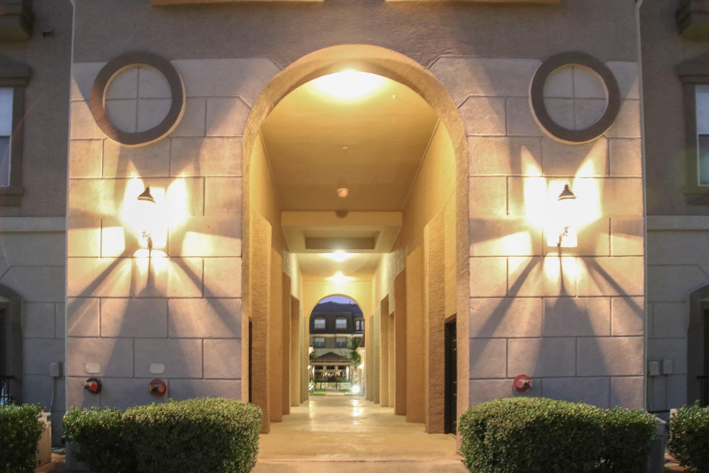 Entrance at 7900 at Park Central Apartments in Dallas, TX