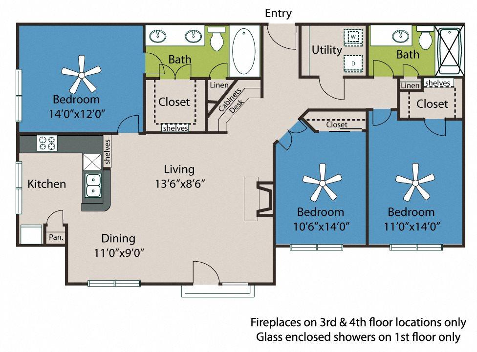 3 Floor Plan 9