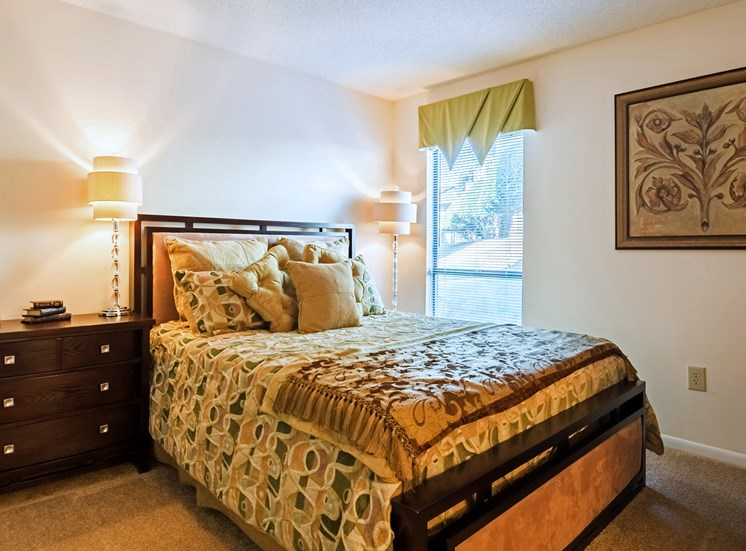 Guest Bedroom at Hudson Orchard Park Apartments, 29615