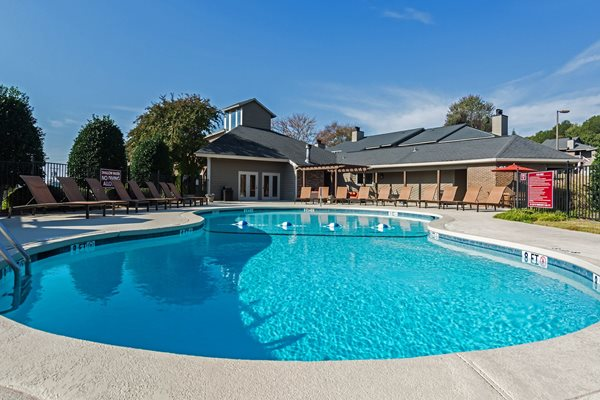 Sparkling Pool at Hudson Orchard Park Apartments, 29615