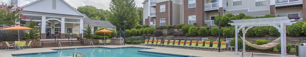 Resort Style Swimming Pool at Hawthorne at Main in Kernersville NC