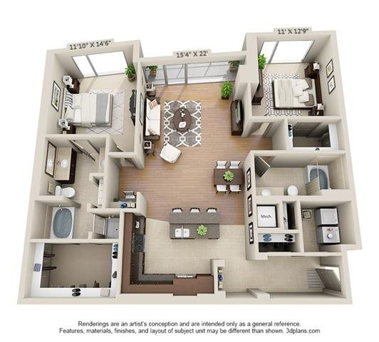 B4 Floor Plan 12
