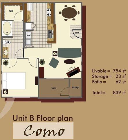 Como Floor Plan 1