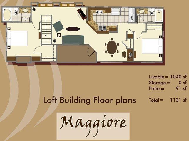 Maggiore Floor Plan 4