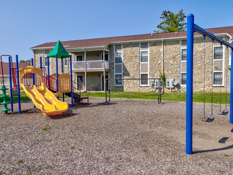 On - Site Playground at Sandstone Court Apartments, Greenwood