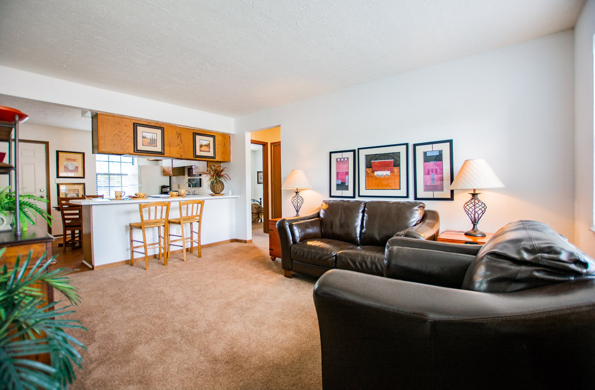 Upgraded Interiors at Sandstone Court Apartments, Greenwood, Indiana