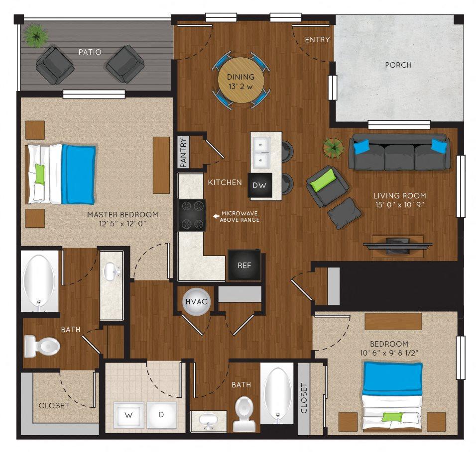 2A Floor Plan 3