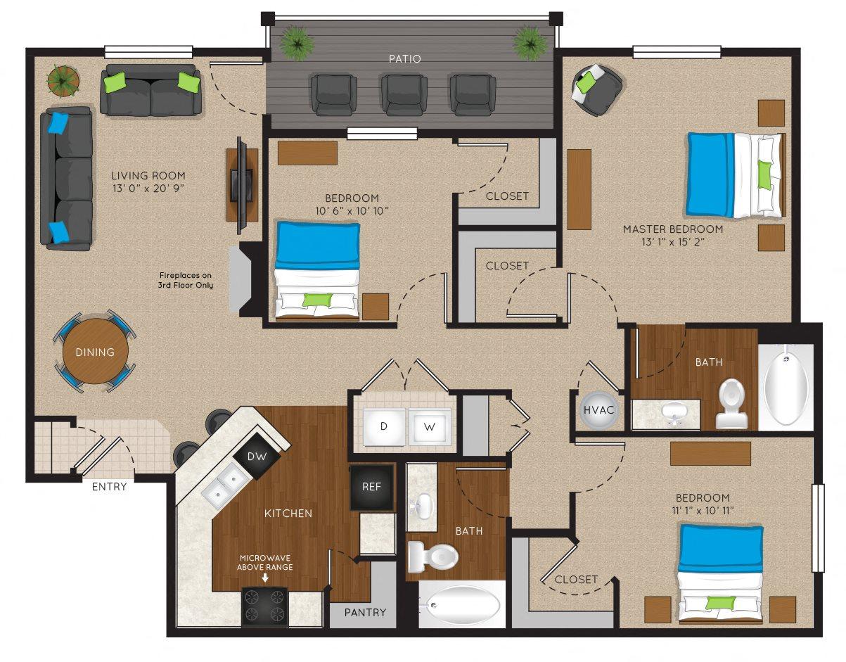 3 Floor Plan 6