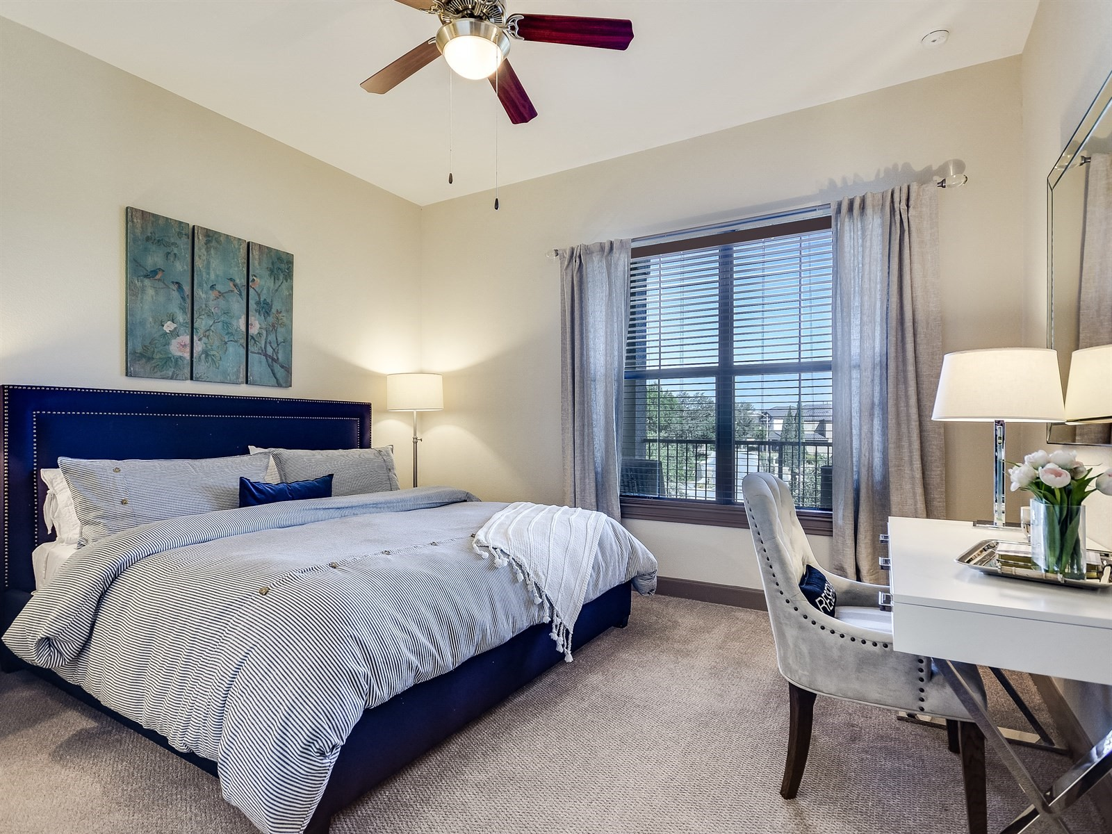 Ceiling Fans in Bedrooms at 3500 Westlake Apartments in Austin, TX