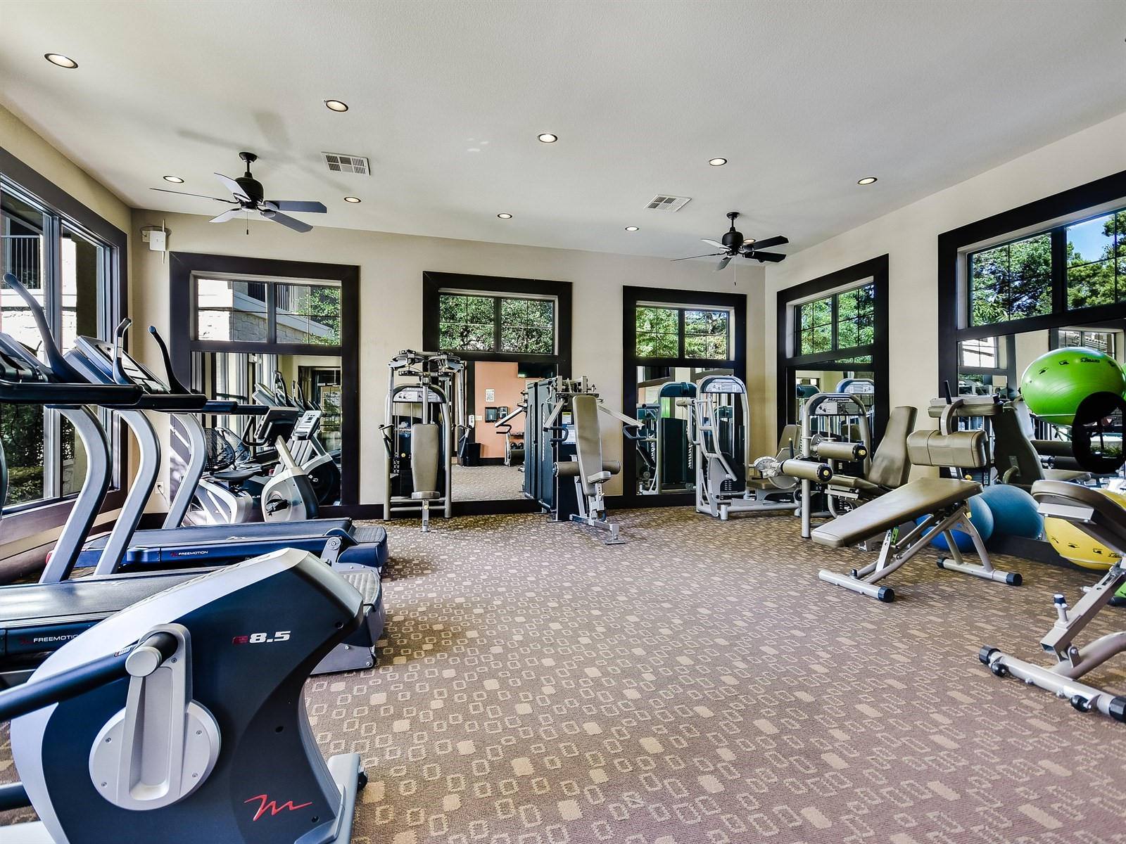 Fitness Center - Amenities at 3500 Westlake Apartments in Austin, TX