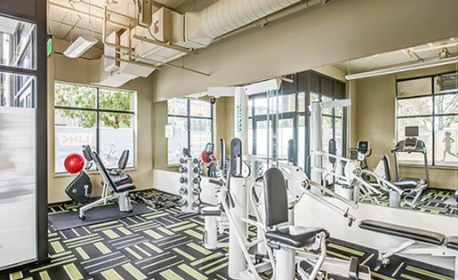 Fully Equipped Fitness Center at Link Apartment Homes, Washington, 98126
