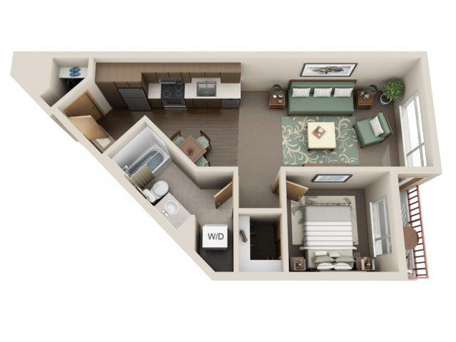 Floorplan at Link Apartment Homes, Washington, 98126