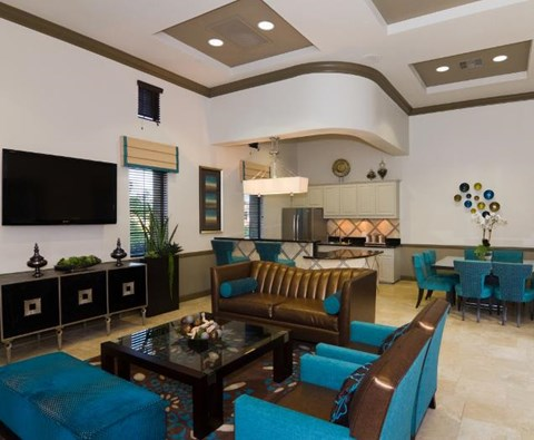 Community Clubhouse at ALARA Links at Westridge Apartment Homes, CA, 91381