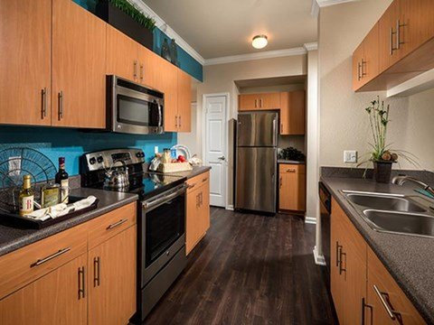 Gourmet Kitchen at ALARA Links at Westridge Apartment Homes, Valencia, CA