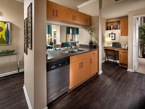 Spacious Kitchen at ALARA Links at Westridge Apartment Homes, Valencia, 91381