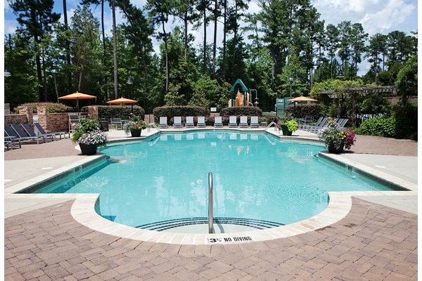 Shimmering pool at Weston Lakeside, NC, 27513