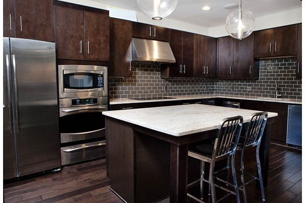 Beautiful kitchen at Weston Lakeside Apartments,  Cary, North Carolina