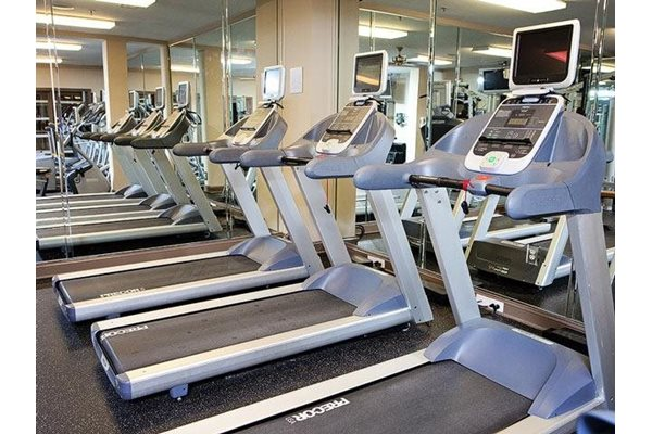 Fitness center at Weston Lakeside Apartments, 1017 Umstead Hollow Place, NC