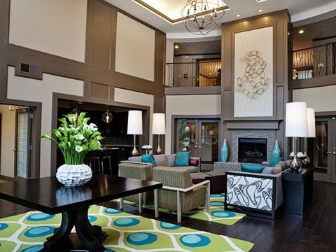 Specious Living Room at Weston Lakeside Apartments, North Carolina, 27513