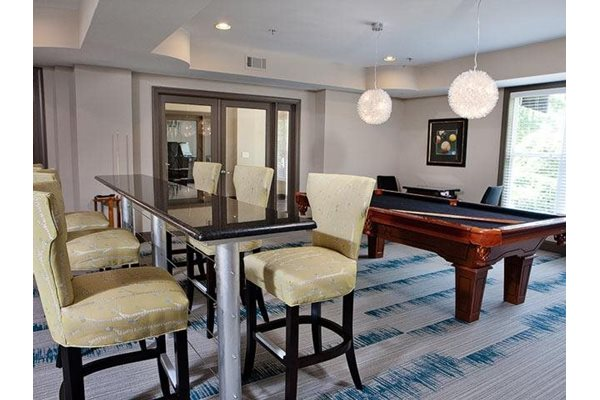 Game room at Weston Lakeside Apartments, Cary NC