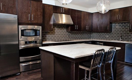 Eat-in Kitchens at Weston Lakeside Apartments, Cary, 27513