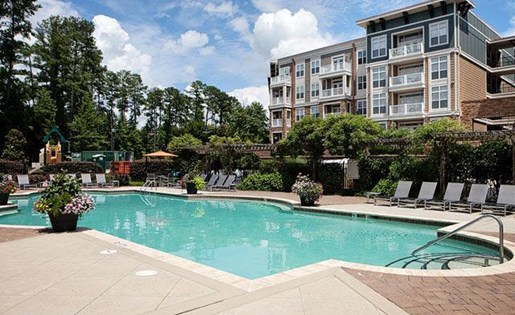 Resort Style Pool at Weston Lakeside Apartments, Cary, NC
